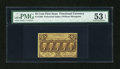 Fractional Currency:First Issue, Fr. 1280 25c First Issue PMG About Uncirculated 53 EPQ....