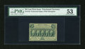Fractional Currency:First Issue, Fr. 1310 50c First Issue PMG About Uncirculated 53....