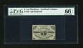 Fractional Currency:Third Issue, Fr. 1226 3c Third Issue PMG Gem Uncirculated 66 EPQ....