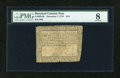Colonial Notes:Maryland, Maryland December 7, 1775 $1/6 PMG Very Good 8....