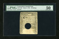Colonial Notes:Connecticut, Connecticut March 1, 1780 40s Hole Cancel PMG About Uncirculated50....