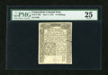 Colonial Notes:Connecticut, Connecticut June 7, 1776 15s PMG Very Fine 25....