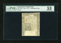 Colonial Notes:Connecticut, Connecticut July 1, 1775 2s/6d Uncancelled PMG About Uncirculated53....