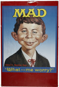 "Memorabilia:MAD, Mad ""What - Me Worry?"" Poster (Buy-Rite Enterprises, 1987)...."