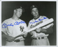 Autographs:Photos, Mickey Mantle And Duke Snider Dual-Signed Photograph. ...