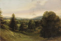 Fine Art - Painting, European:Antique  (Pre 1900), GROUP OF THREE 19TH CENTURY LANDSCAPES. ... (Total: 3 Items)