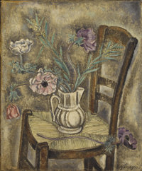 GROUP OF SIX 20TH CENTURY STILL LIFE PAINTINGS