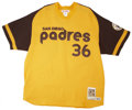 Autographs:Jerseys, Gaylord Perry Throwback Jersey....