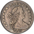 Early Half Dimes, 1805 H10C VF30 PCGS....