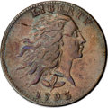 Large Cents, 1793 1C Wreath Cent, Vine and Bars XF45 PCGS....