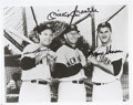 Autographs:Photos, 1950's NY Yankees Sluggers Signed Photo...