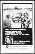 """Movie Posters:Cult Classic, Two-Lane Blacktop (Universal, 1971). One Sheet (27"""" X 41""""). CultClassic.. ..."""