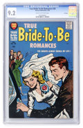 Silver Age (1956-1969):Romance, True Bride-to-Be Romances #28 File Copy (Harvey, 1958) CGC NM- 9.2Cream to off-white pages....
