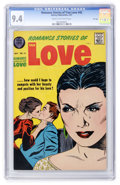 Silver Age (1956-1969):Romance, Romance Stories of True Love #45 File Copy (Harvey, 1957) CGC NM9.4 Cream to off-white pages....