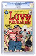 Golden Age (1938-1955):Romance, True Love Problems and Advice Illustrated #35 File Copy (Harvey,1955) CGC NM 9.4 Cream to off-white pages....