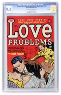 Golden Age (1938-1955):Romance, True Love Problems and Advice Illustrated #19 File Copy (Harvey,1953) CGC NM 9.4 Cream to off-white pages....