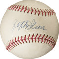 Autographs:Baseballs, 1960's Lefty Grove Single Signed Baseball....