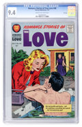 Silver Age (1956-1969):Romance, Romance Stories of True Love #46 File Copy (Harvey, 1957) CGC NM9.4 Cream to off-white pages....