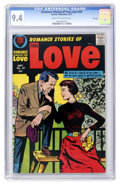Silver Age (1956-1969):Romance, Romance Stories of True Love #47 File Copy (Harvey, 1957) CGC NM9.4 Cream to off-white pages....