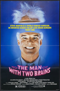 """The Man with Two Brains (Warner Brothers, 1983). One Sheet (27"""" X 41""""). Comedy"""