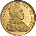 German States:Saxony, German States: Saxony. Friedrich August III gold Ducat 1801-IEC,...