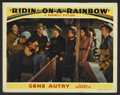 "Movie Posters:Western, Gene Autry Lot (Republic, 1940-41). Lobby Cards (3) (11"" X 14""). Western.. ... (Total: 3 Items)"