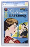 Silver Age (1956-1969):Romance, Hi-School Romance Datebook #1 File Copy (Harvey, 1962) CGC NM 9.4Off-white pages....