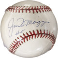 Autographs:Baseballs, Joe DiMaggio #5 Single Signed Baseball. ...