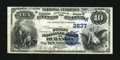 National Bank Notes:Colorado, Durango, CO - $10 1882 Date Back Fr. 545 The First NB Ch. #(W)2637. ...
