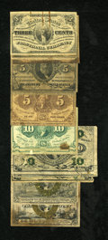 Fractional Currency:Fifth Issue, First, Second, and Third Issue Grab Bag.... (Total: 16 notes)