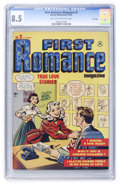 Golden Age (1938-1955):Romance, First Romance #2 File Copy (Harvey, 1949) CGC VF+ 8.5 Light tan tooff-white pages....