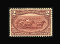 Stamps, #286, 1898, 2c Copper Red, VF-XF 85 PSE. (Original Gum - Never Hinged)....