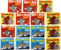 "Non-Sport Cards:Unopened Packs/Display Boxes, Scarce 1965 Topps ""Tom and Jerry"" tattoo Unopened Packs Collectionof (15)...."