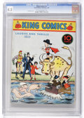 Platinum Age (1897-1937):Miscellaneous, King Comics #4 (David McKay Publications, 1936) CGC VG+ 4.5 Creamto off-white pages....