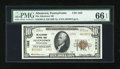 National Bank Notes:Pennsylvania, Allentown, PA - $10 1929 Ty. 2 The Allentown NB Ch. # 1322. ...