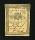 Colonial Notes:Pennsylvania, Pennsylvania April 25, 1776 10s Extremely Fine....