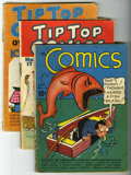 Platinum Age (1897-1937):Miscellaneous, Tip Top Comics Group (United Features Syndicate, 1936-37) ....(Total: 3)