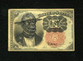 Fractional Currency:Fifth Issue, Politically Incorrect African-American Satirical Fr. 1265 10c FifthIssue. . ...