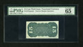 Fractional Currency:Third Issue, Fr. 1272SP 15c Third Issue Narrow Margin Back PMG Gem Uncirculated 65 EPQ....