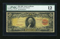 Large Size:Gold Certificates, Fr. 1179 $20 1905 Gold Certificate PMG Fine 12....