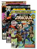 Bronze Age (1970-1979):Horror, Tomb of Dracula Group (Marvel, 1977-79) Condition: Average NM-....(Total: 16 Comic Books)