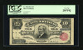 Large Size:Silver Certificates, Fr. 298 $10 1891 Silver Certificate PCGS Very Fine 20PPQ....