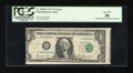 Error Notes:Miscellaneous Errors, Fr. 1909-G $1 1977 Federal Reserve Note. PCGS Very Fine 30.. ...