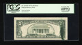 Error Notes:Ink Smears, Fr. 1975-F $5 1977A Federal Reserve Note. PCGS Extremely Fine40PPQ.. ...