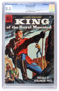 Silver Age (1956-1969):Adventure, Four Color #935 King of the Royal Mounted (Dell, 1958) CGC VF+ 8.5 Off-white to white pages....