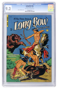 Long Bow #6 (Fiction House, 1952) CGC NM- 9.2 Off-white to white pages
