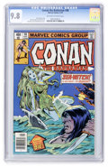 Bronze Age (1970-1979):Adventure, Conan the Barbarian #98 (Marvel, 1979) CGC NM/MT 9.8 Off-white to white pages....