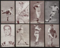 Baseball Cards:Lots, 1939-46 Salutations (130) and 1947-66 Baseball Exhibits Collection(450). ...