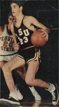 "Basketball Collectibles:Photos, Late 1960's ""Pistol Pete"" Maravich Signed Magazine Photograph...."
