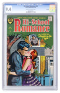 Golden Age (1938-1955):Romance, Hi-School Romance #38 File Copy (Harvey, 1955) CGC NM 9.4 Cream tooff-white pages....